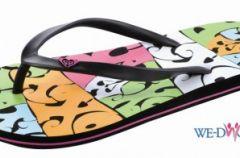 Klapki, sanda�y i buty z kolekcji Roxy - lato 2009