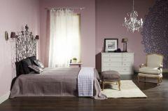 Zmys�owa sypialnia w stylu new romantic