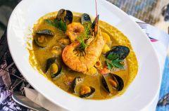 Bouillabaisse - marsylska zupa rybna