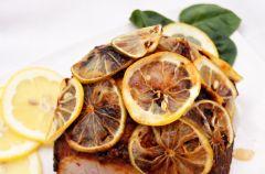 Szpajza cytrynowa, szynka pod cytrusami i malinowe ciasto - Przepisy z bloga Bernika M�j kulinarny pami�tnik