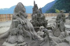 Przepi�kne rze�by w piasku