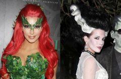 Halloweenowe fryzury celebrities