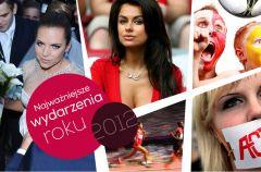 Najwa�niejsze wydarzenia 2012 roku