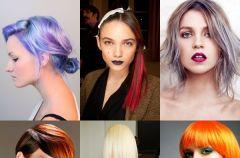Kolorowe fryzury karnawa�owe