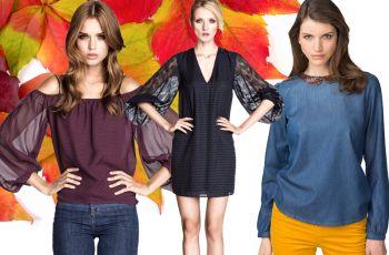 Koszule i bluzki - kolekcje na jesie� i zim� 2013/14 - Reserved