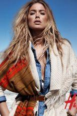Doutzen Kroes promuje dla H&M kolekcj� jesie�-zima 2013/14 - H&M