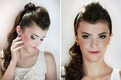 Uwodzicielski makija� �lubny i fryzura - krok po kroku