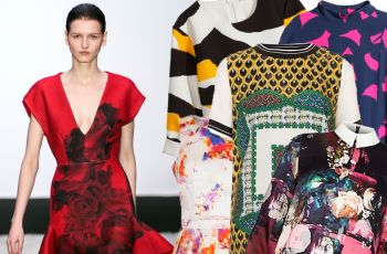 Wzorzyste sukienki na pocz�tek jesieni