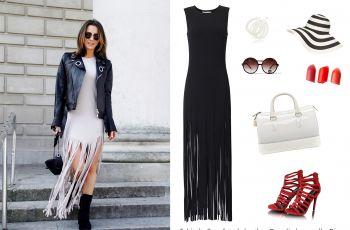 Blogerki w sukienkach maxi