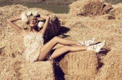 Anja Rubik w roli panny m�odej