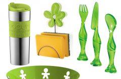 Wiosenne, zielone i soczyste dodatki do wn�trz
