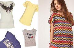 Najmodniejsze t-shirty na lato 2012!