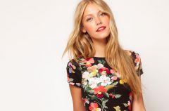 Sukienki w kwiaty - jesie� 2012!