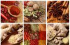 Medycyna naturalna - 6 rozgrzewaj�cych zi� i przypraw