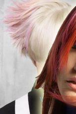 Kolor na g�owie - modne fryzury od Goldwell