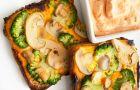 Sezonowe tosty z grzybami - mniam!