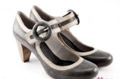 Kolekcja szarego obuwia Venezia wiosna-lato 2009