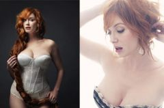 Christina Hendricks w negli�u dla New York Magazine