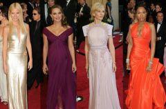 Kreacje gwiazd - Oscary 2011