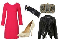 Sukienka w kolorze fuksji na 3 sposoby!