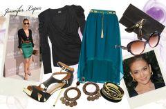 Jennifer Lopez - Styl Gwiazd