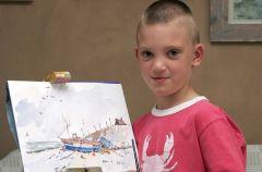 8 letni geniusz malarski