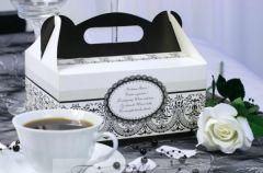 Pude�ko na ciasto lub tort weselny