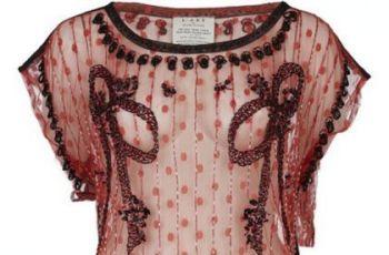 River Island - Modne bluzki z kolekcji jesienno-zimowej 2010/2011