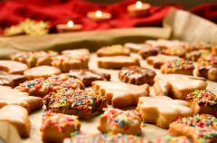 Ukrai�skie ciasteczka bo�onarodzeniowe
