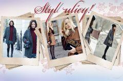 Zimowe stylizacje z mody ulicznej