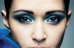Kolorowe smoky eyes