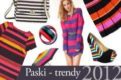 Jak nosi� paski? - trendy 2012
