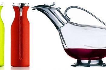 Karafka na wino lub wod� - kieliszki