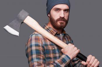 Lumberseksualny facet drwal - idea� m�czyzny!