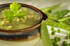 Zupa UFO w kolorze zielonym