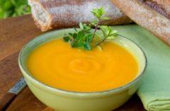 Zupka marchewkowa z mlekiem modyfikowanym