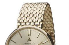 Z�oty zegarek Atlantic