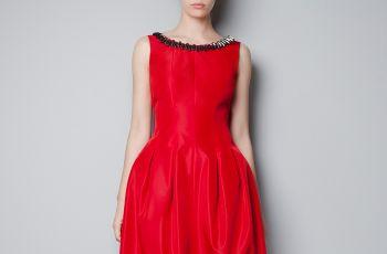Sukienki Zara na jesie� i zim� 2012/13