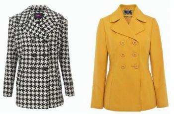 P�aszcze i kurtki F&F na jesie� i zim� 2012/13 - modne p�aszcze