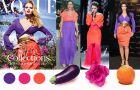 Fiolet + oran� = najmodniejsze zestawienie kolorystyczne sezonu