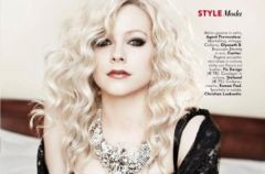 Avril Lavigne w obiektywie Marka Liddella