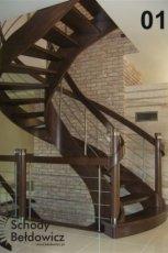 Bajeczne schody drewniane