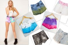 5 sposob�w na modne postarzenie szort�w!