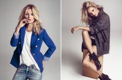 Kulisy kampanii Mango z Kate Moss na jesie� i zim� 2012/13