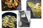 Krewetki, granita i fettuccine - przepisy kulinarne z bloga Eat after reading