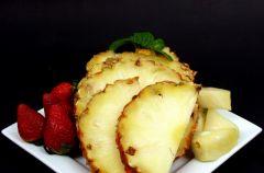 Sma�one ananasy