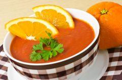Zupa pomara�czowo-marchwiowa
