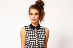Sukienki w pepitk� - jesie� 2012