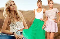 Nowe kolekcje - sp�dniczki na wiosn� i lato 2013