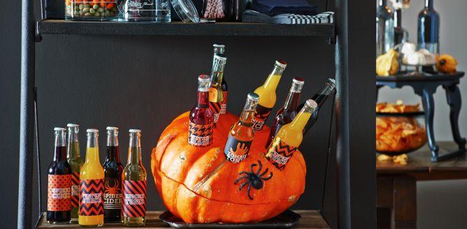 Lod�wka z dyni na Halloween - DIY!